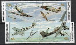Iles Marshall - 1990 - Yvert N° 312 à 315 **  - La Bataille D'Angleterre - Marshall
