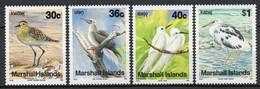 Iles Marshall - 1990 - Yvert N° 319 à 322 **  - Série Courante, Oiseaux - Marshall