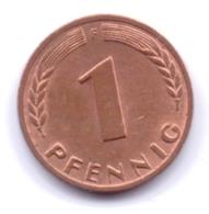 BRD 1968 F: 1 Pfennig, KM 105 - [ 7] 1949-… : RFA - Rep. Fed. Alemana