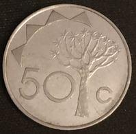 NAMIBIE - NAMIBIA - 50 CENTS 1993 - KM 3 - Namibia