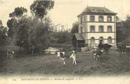 ENVIRONS DE DIEPPE  Moulin De Longueuil  Vaches Au Paturage RV - Dieppe