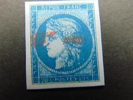 Facsimilé Du N°. 8A - 1849-1850 Cérès