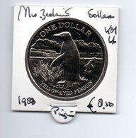 NIEUW ZEELAND DOLLAR 1986 CN UNC PINGUIN - Nouvelle-Zélande
