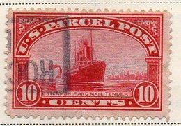 1219 490 - STATI UNITI 1912 , Pacchi Postali  N. 6 Usato  (M2200) - Other