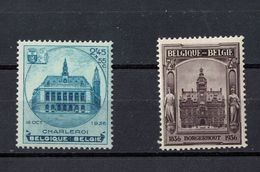 BELGIQUE  436 437 - Unused Stamps