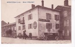 SOUSCEYRAC(HOTEL PRUNET) AUTOMOBILE - Sousceyrac