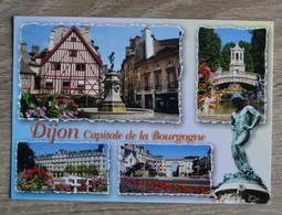 CPM CPSM   DIJON     VOYAGEE  TRES BON ETAT  VOIR SCANS - Dijon
