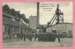 57 - DEUTSCH-OTH - AUDUN LE TICHE - Frontière LUXEMBOURG - Grube St Michel - Schichtwechsel Der Russen - Puits De Mine - France