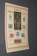 Superbe Feuilles Avec Série Complète ORVAL De 1943 ,Feuillet N° 17961 ,Lettrage ORVAL,pour Collection - Collections