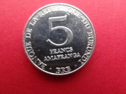 Burundi  5 Francs  1980  Km 20 - Burundi