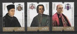 Portugal 2019  Mi.Nr. 4569 / 71 ,  Erzbischöfe Von Braga -  Postfrisch / MNH / (**) - Unused Stamps