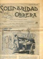 Revue - Solidaridad Obrera Facsimilé Du N) Du 19 Octobre 1907 - Barcelona - C N T D'Espagne 12 /1958 - Otros