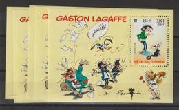 France 2001 Gaston Lagaffe BF 34 Par 5 Exemplaires ** MNH - Neufs