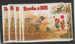 France 2002 Boule Et Bill BF 46 Par 5 Exemplaires ** MNH - Neufs