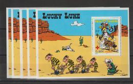 France 2003 Lucky Luke BF 55 Par 5 Exemplaires ** MNH - Sheetlets
