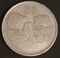 ZIMBABWE - 1 DOLLAR 1980 - KM 6 - Zimbabwe