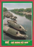 Vietnam- HUÉ-  Présentation De HUÉ - Barques Et Fleuve *SUP - Vietnam