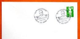 66 AMELIE LES BAINS   MARECHAL DE CASTELLANE 1990 Lettre Entière N° NO 540 - Marcophilie (Lettres)