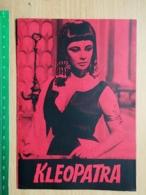 Prog 25 - Cleopatra (1963) - Elizabeth Taylor, Richard Burton, Rex Harrison, Pamela Brown - Cinema Advertisement