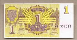 Lettonia - Banconota Non Circolata FdS Da 1 Rublo P-35 - 1992 #18 - Latvia