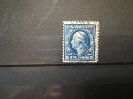 FRANCOBOLLI STAMPS U.S.A. UNITED STATES STATI UNITI 1908 USED SERIE GEORGE WASHINGTON  BENJAMIN FRANKLIN OBLITERE' - Gebraucht