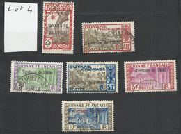 ININI : Lot 4 De 6 Timbres Oblitérés - Used Stamps