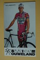 CYCLISME: CYCLISTE : WIM LAMBRECHTS - Ciclismo