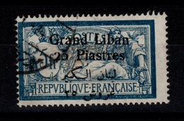 Grand Liban - YV 38 Oblitere Cote 16 Euros , Pas Courant - Gross-Libanon (1924-1945)