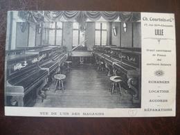 Carte Façade De Commerce CH-COURTOIS Pianos,location,échanges Réparations    -LILLE - Lille