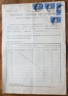 FASCISMO - G.I.L. DI BOLOGNA - DOCUMENTO DELLA ATTIVITA' SVOLTA DALLA INSEGNATE  FASCISTA...... DAL 1932 AL 1940... - Documenti Storici