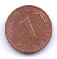 BRD 1981 J: 1 Pfennig, KM 105 - [ 7] 1949-… : RFA - Rep. Fed. Alemana