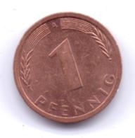 BRD 1992 A: 1 Pfennig, KM 105 - [ 7] 1949-… : RFA - Rep. Fed. Alemana