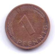 BRD 1992 G: 1 Pfennig, KM 105 - [ 7] 1949-… : RFA - Rep. Fed. Alemana