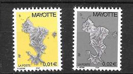 2004 -   Mayotte Série Courante  - YT 150/151 - MNH** - Neufs