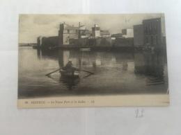 CPA TUNISIE - BIZERTE - 28 - Le Vieux Port Et La Ksiba - LL - Tunisia