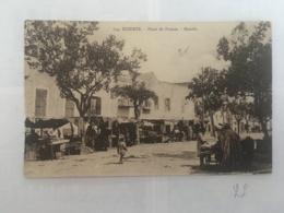 CPA TUNISIE - BIZERTE - 734 - Place De France - Marché - Tunisia