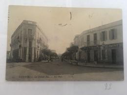 CPA TUNISIE - BIZERTE - 105 - La Grande Rue - ND - Tunisia