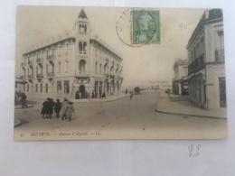 CPA TUNISIE - BIZERTE - 35 - Avenue D'Algérie - LL - Tunisia