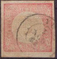 1862 Peru, Porte Franco Un Dinero Gest. - Peru