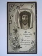 Sidonia De Schoenmaeker Leest 1851 Mechelen 1924 Wed Victor Verbeeck Doodsprentje Image Mortuaire A.D.F.N. Série B 3? - Images Religieuses