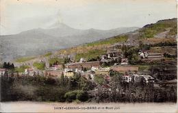 SAINT-GERVAIS-les-BAINS Et Le Mont Joli - Saint-Gervais-les-Bains