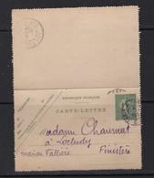 Carte Lettre De Paris 1904 Pour Maison Valliere Conserverie ??? à Loctudy Finistere ( Voir Obliteration 2e Scan Chaumat - Frankrijk
