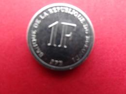 Burundi  1 Franc  2003  Km 19 - Burundi