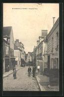 CPA St-Aignan-sur-Cher, Vue En Grande Rue - Saint Aignan