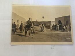 CPA TUNISIE - FERIANA - La Place Du Marché - Tunisia