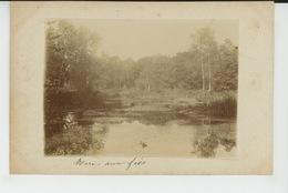 RECLOSES - Photo Sur Support Papier : Mare Aux Fées (vers 1900 ) - Autres Communes
