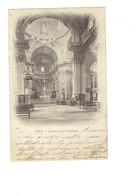 Cpa - 06 - NICE - Intérieur De La Cathédrale - ND 372 - Tampon Au Dos CECIL HOTEL - 1903 - Bauwerke, Gebäude