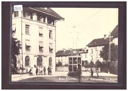 FORMAT 10x15cm - TRAMWAY DE BIENNE - BIEL - CARTE BVA REPRO ANNEES 70 - TRAIN - BAHN - No 33.11 - TB - BE Berne