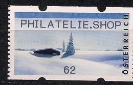 2013 Austria AWZ  Timbres De Distributeurs  Mi. 32 **MNH Philatelie.Shop   Weihnachten.Schneelandschaft - 2011-... Ungebraucht