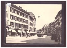 FORMAT 10x15cm - TRAMWAY DE BIENNE - BIEL - CARTE BVA REPRO ANNEES 70 - TRAIN - BAHN - No 33.7 - TB - BE Berne